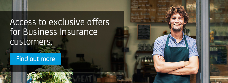 Access to exclusive offers for Business Insurance customers.