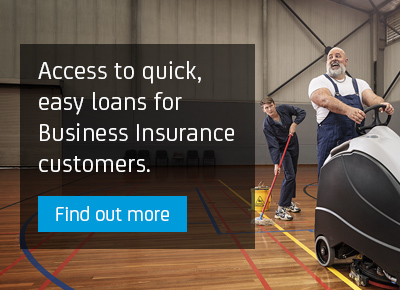 Access to quick, easy loans for Business Insurance customers.