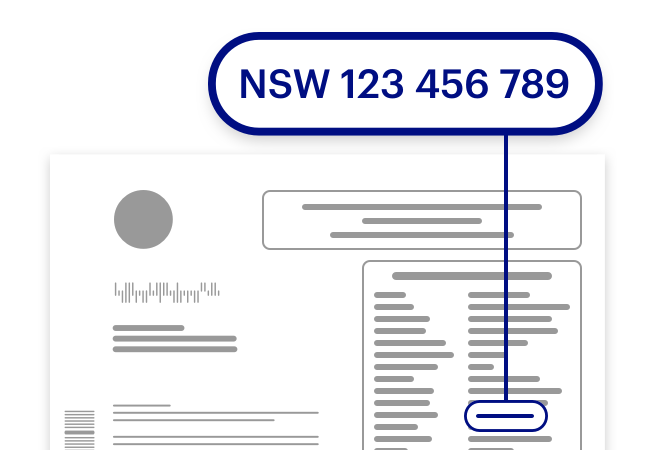Your policy number is on the right side of your policy document. Green Slip policy numbers start with NSW, then nine numbers.