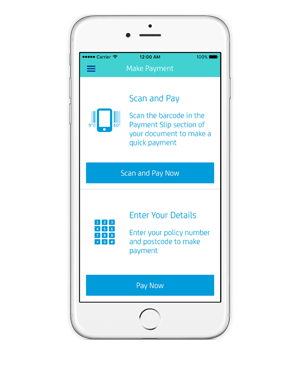 NRMA Insurance app payments and renewals